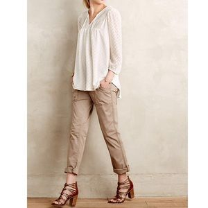 * Anthropologie Hei Hei Utility Roll Up Pants *
